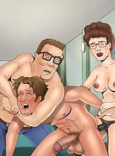 Peggy.., Toon BDSM