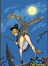 Blond.., Witch Cartoons