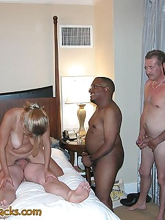 Some Black cock is a plus in any gangbang