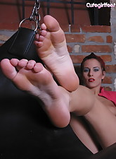 Hot goth.., Cute Girl Feet