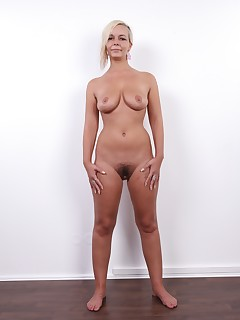 In this video, youll see Petra - a hottie with amazing tits. This pleasant blonde became quite a riddle for our cameraman. She was really shy, so to work with..
