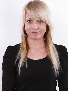Czech Casting. For todays CzechCasting, weve prepared a nice blond teen from Prague. Her name is Denisa, shes barely nineteen and..