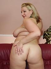 Blonde.., BBW Heavy Tits