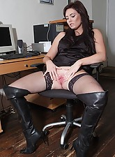 Hot.., Girls In Leather Boots