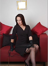 Sexy.., Ladies In Leather Gloves