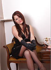 Candi.., Ladies In Leather Gloves