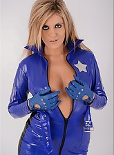 Cute.., Ladies In Leather Gloves
