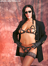 Sultry.., Ladies In Leather Gloves