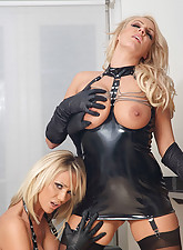 These.., Ladies In Leather Gloves