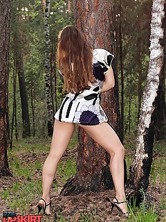 Upskirt Collection  outdoor
