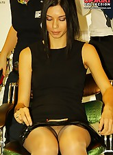 Sitting.., Upskirt Collection