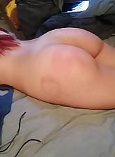 spanked.., Amateur Porn