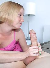Mother.., Over 40 Handjobs