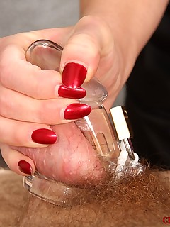 CBT and Ball Busting nyxon balls
