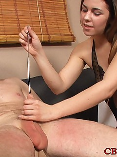 CBT and Ball Busting scene mistress