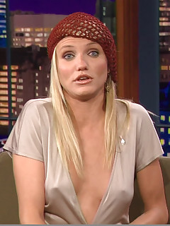 Mr Skin. Cameron Diaz reveals her hot panty covered buns and hard pokies