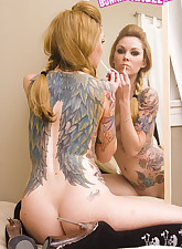 Tattooed.., Burning Angel