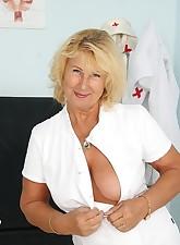 Greta.., Naughty Head Nurse